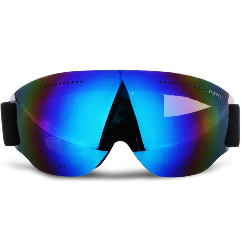 brand child ski goggles Snowmobile anti-fog Goggles big ski mask glasses skiing men women snow snowboard goggles