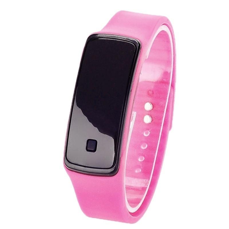 FUNIQUE Moda dzieci cyfrowy zegarek kobiet mężczyzn elektroniczny - Zegarki dziecięce - Zdjęcie 5