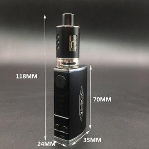 Image 5 - Electronic Cigarette 30W 60W 80W Adjustable Vape Mod V3 Box kit 2200mah 0.2ohm Battery 2ml tank