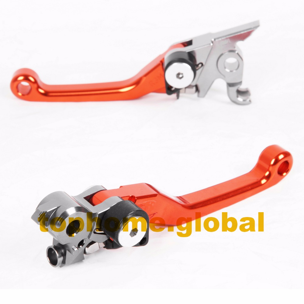 CNC Pivot Dritbike Brake Clutch Levers For KTM 200 XC-W EXC 150 SX XC 2009-2013 2010 2011 2012 pitbikes  pivot brake levers cnc billet engine clutch cover outside for ktm 250 xc f xc f xcf w exc f 2007 2008 2009 2011 2012