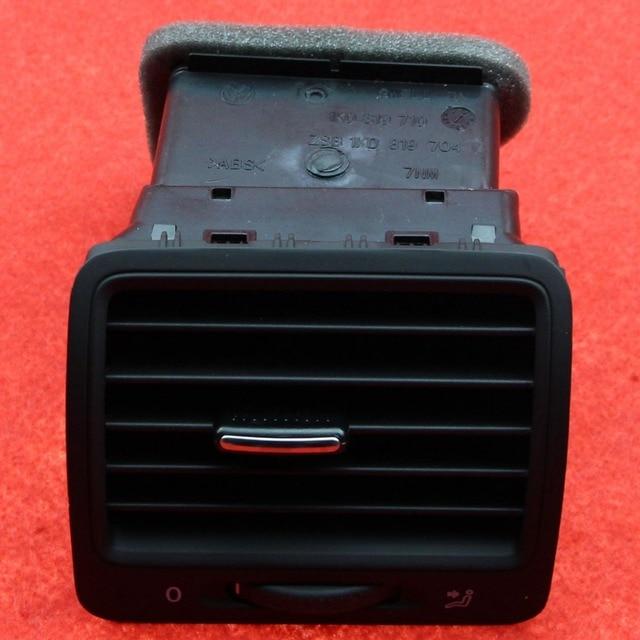 Original OEM Black Right Dashboard Air Conditioning Outlet Vent Fit VW JETTA 5 GOLF MK5 GTI MKV Rabbit 1K0 819 704  1K0 819 710