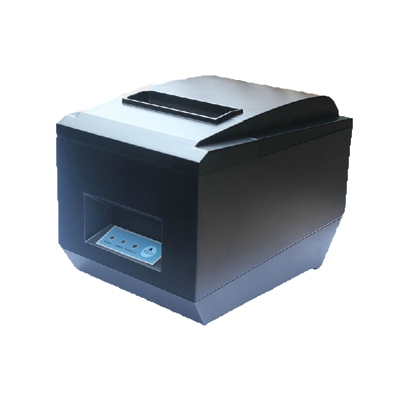 80mm pos receipt printer with bluetooth WIFI & usb & serial port support Android and IOS thermal bill printer with auto cutter 2017 new arrived usb port thermal label printer thermal shipping address printer pos printer can print paper 40 120mm