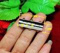 30*10 MM bisagra bisagra diente tarjeta niquelado cajas de madera bisagra fija combinada de embalaje correas garra