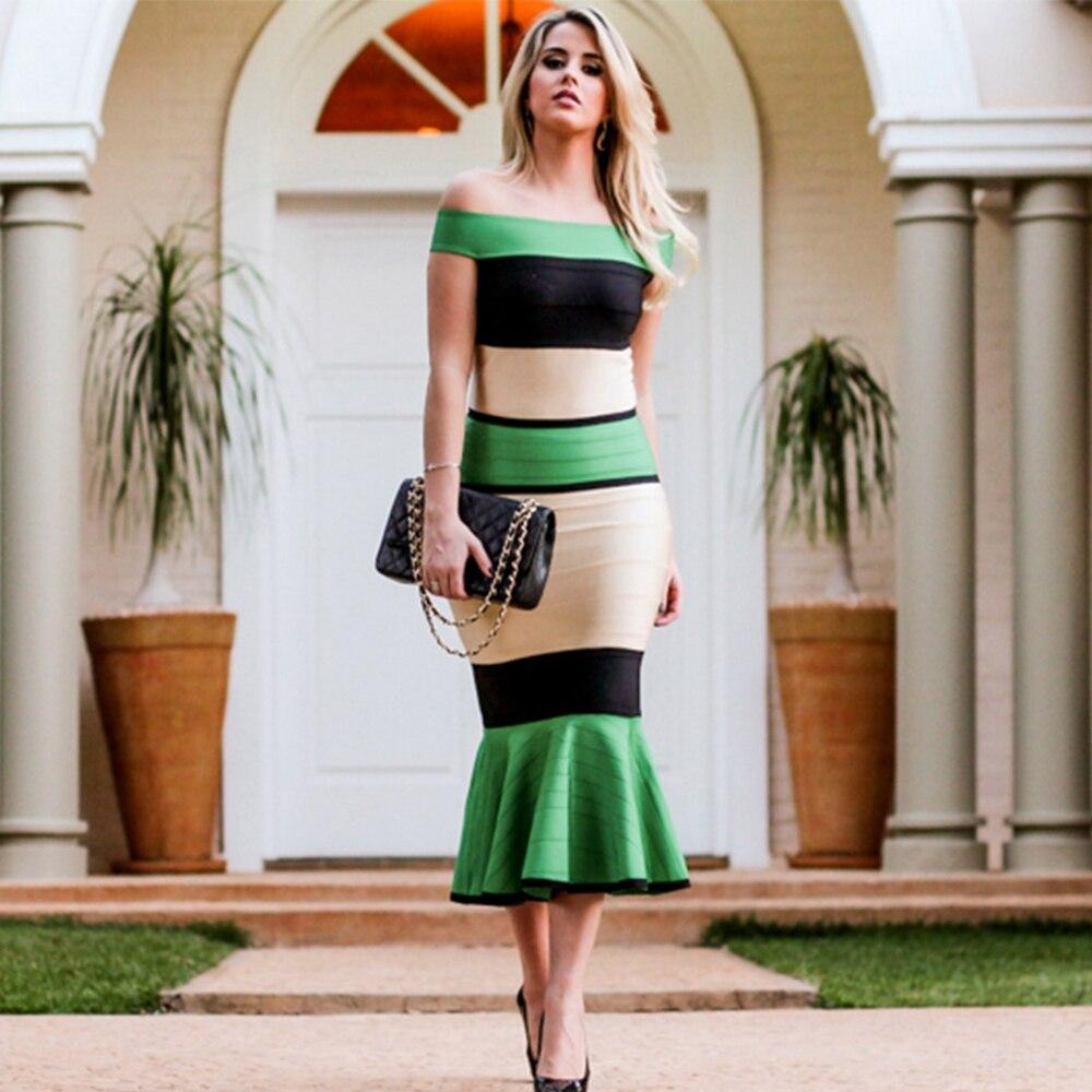 De New Robe Femmes Slash Nouvelle Partie Longue Bandage Summer Cou Soirée Sleevess Célébrité Verano 2018 Robes Court Maxi dCxoBerW