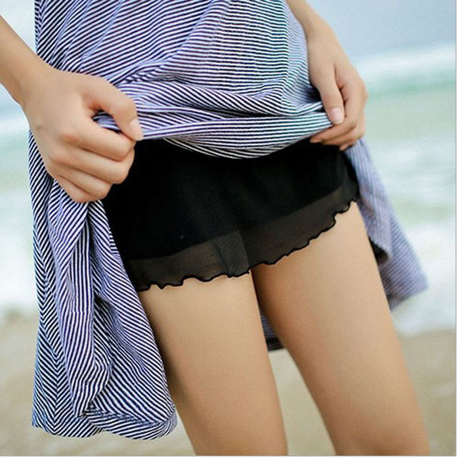 Basic Panties Safety Underwear cute underwear Women candy ...