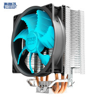 Pccooler Cpu Cooler 12cm Quiet 4pin Pwm Fan 3 Pure Copper Heatpipes Cpu Cooling Radiator Fan