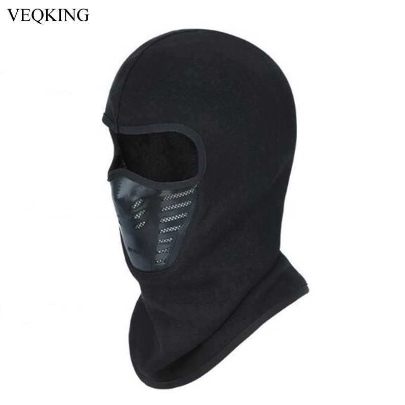 54878642d VEQKING Winter Outdoor Sports Masks Windproof Warmer Fleece Balaclavas Bike  Cycling Face Mask Wine Snow Ski Mask Hiking Caps