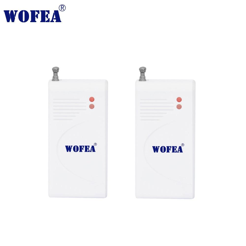 Wofear  2pcs/lot Wireless Vibration Sensor Shock Detector Break Breakage Glass Sensor Detector