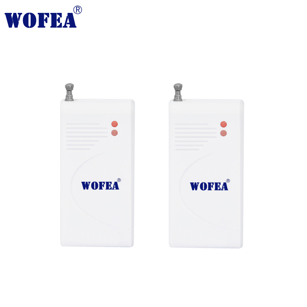 Wofear  2pcs/lot Wireless Vibration Sensor Shock Detector Break Breakage Glass Sensor Detector