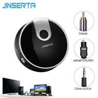 3 5mm AUX Wireless Bluetooth Transmitter Audio Stereo Music Home Optical Coaxia For Smart TV Game