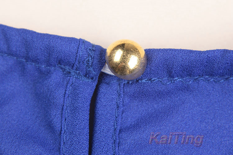 HTB19TnVGFXXXXXvXpXXq6xXFXXXw - Short Butterfly Sleeve Women Blouses Clothing Casual Chiffon Shirt