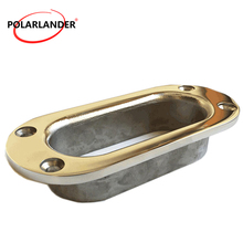 MOORING  CHAIN LINE Marine accessory 316 stainless steel OVAL HAWSE PIPE ANCHOR ROPE  139.7mm  Marine yacht