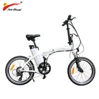 Electric Folding Bike 20 BAFANG Motor Wheel 36v 250W Shimano 6 Speed 36V 10AH LITHIUM Battery