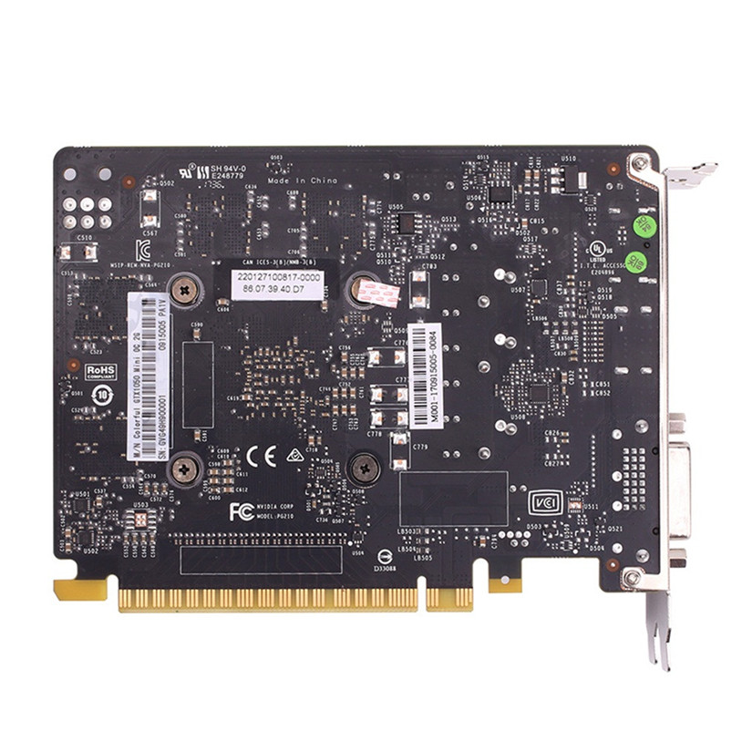 GTX1050Ti Mini OC 4G GDDR5 128Bit PCI Express Game Video Card Graphics Card Gift Feb 8 Drop Ship кабель orient c391 pci express video 2x4pin 6pin