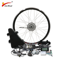BAFANG 48V 500W Motor Wheel Electric Bike Conversion Kit with 48V20AH Lithium Battery 8fun Gear Hub Motor 26
