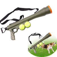 2018 New Dog Tennis Ball Launch Gun Pet Training Toy Remote Speed Agility Equipment Dog Interactive Toys