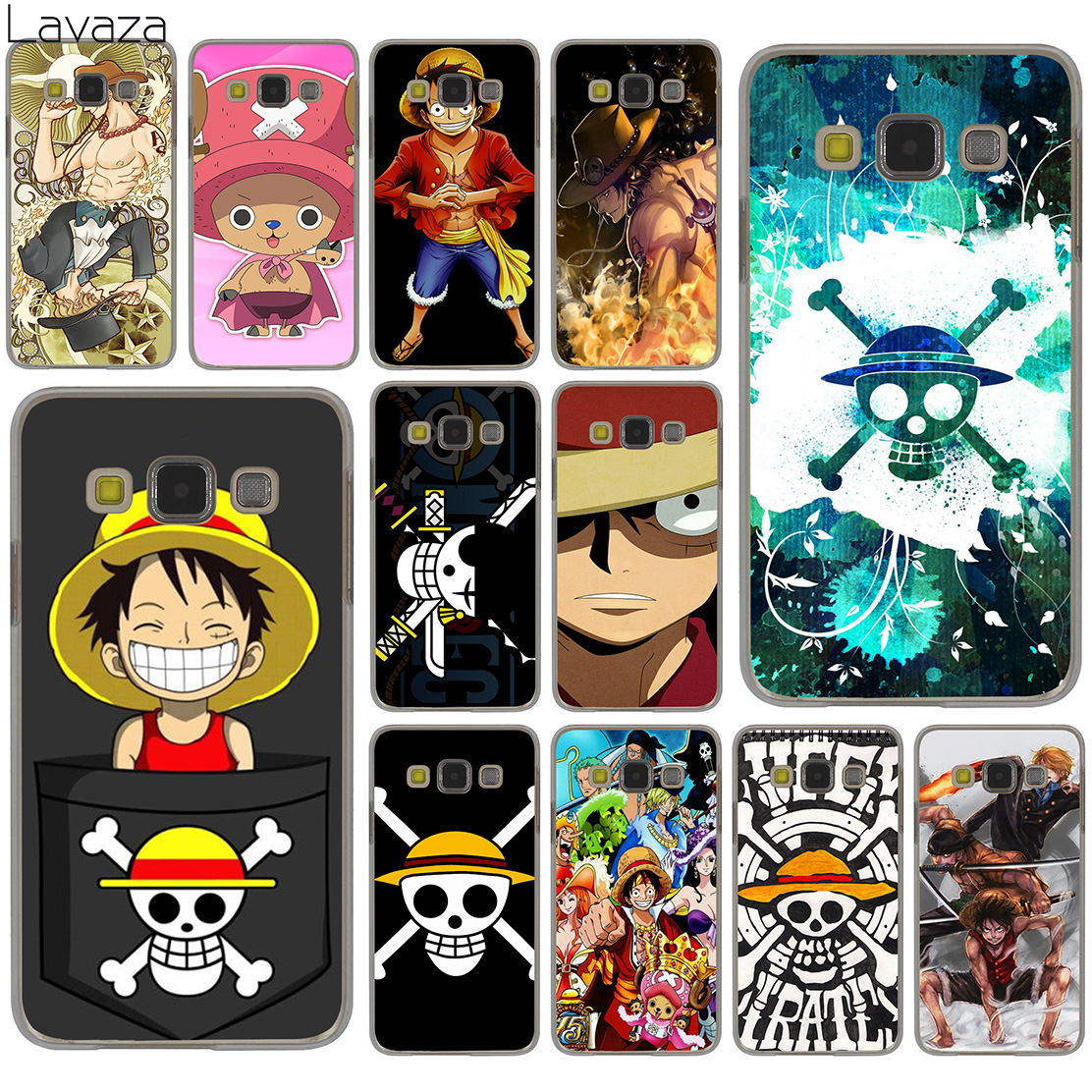 best sneakers 74fbe b550e One Piece Luffy Anime Hard Samsung Galaxy S9 S8 Plus S3 S4 S5 S6 S7 Edge S9  Plus Phone Cover