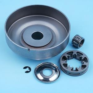 """Image 4 - . 325 """" 7 T Clutch Drum Waschmaschine Rim Kettenrad Set Für Stihl MS270 MS280 MS271 MS281 MS291 MS 270 280 kettensäge Ersatz Teil"""