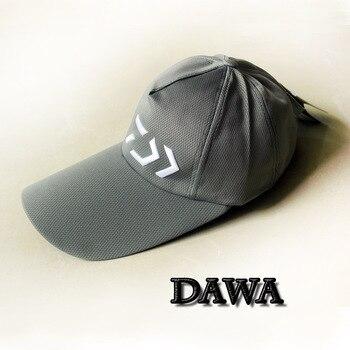 2018 جديد نمط دايوا الصيد قبعة في الهواء الطلق الصيف تنفس مريحة قبعات ظلة القبعات مع 5 ألوان-الأسود-الأبيض