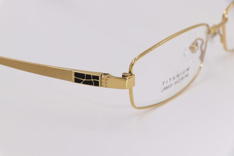 Ren titanium glasögonramar män optiska glasögon ram märke - Kläder tillbehör - Foto 5