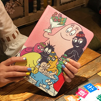 PU Leather Smart Cover For IPad Air 1 Case Cute Cartoon Picture Wake Up Sleep Case