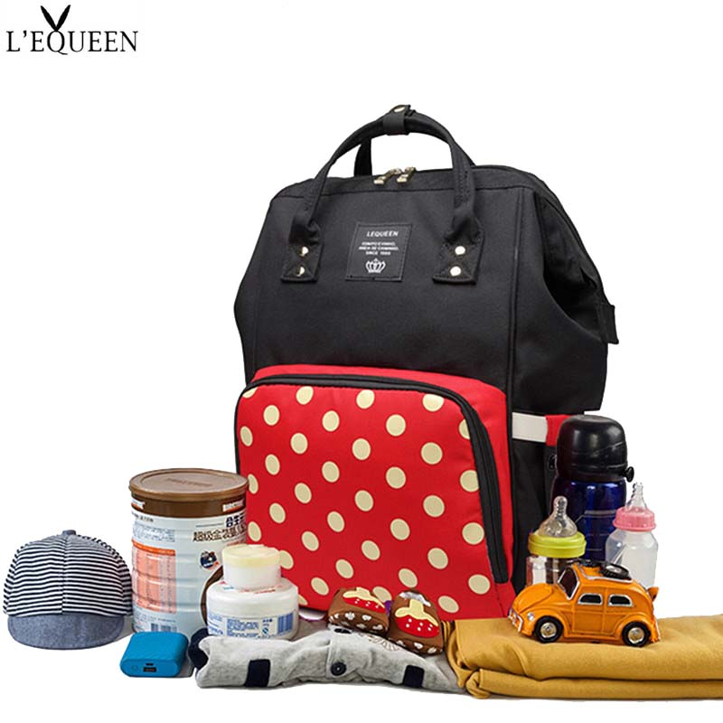 Lequeen Mummy Bag Diaper Puerperal Bag Large Capacity Travel Nursing Bag Multiple Backpack Portable Nappy Bag For Baby StrollerLequeen Mummy Bag Diaper Puerperal Bag Large Capacity Travel Nursing Bag Multiple Backpack Portable Nappy Bag For Baby Stroller