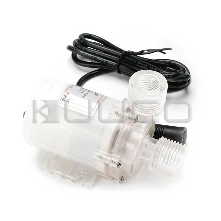 24V Micro Submersible Pump/Booster Pump/Circulation Pump 12L/Min Brushless Motor Ultra Quiet Water Pump Amphibious Food Grade