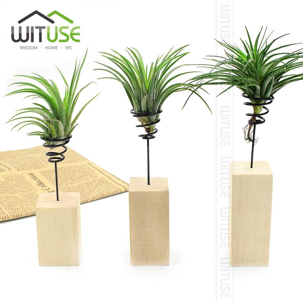 Air Plant Wall Holder Wituse Flash Deal 6pcs Diy Wedding Home Garden Air Plant Hanging Flower Holder Geometric Planter Christmas Hanger Decoration