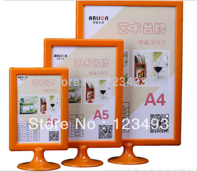 8 6 Acrylic Frame Double Size Display Photo Picture Frames A5