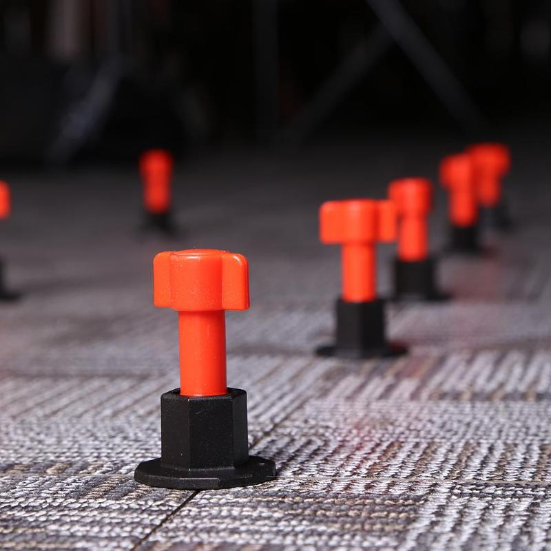 50pcs Mini Tile Leveling System Level Wedges Tile Spacers For Flooring Wall Tile Carrelage Leveler Locator Spacers Plier Floor