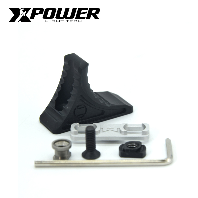 XPOWER MLock&Keymod Hand Stop Paintball Airsoft Air Guns Accessories Hunting Outdoor Sports Paintball Equipment