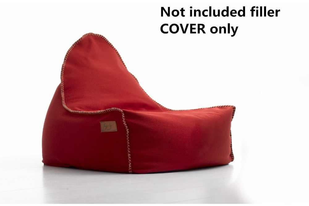 Espreguiçadeira saco de feijão TAMPA DA cadeira do saco de feijão só fornecer, NÃO incluído dentro do material de enchimento por 420D Canvas