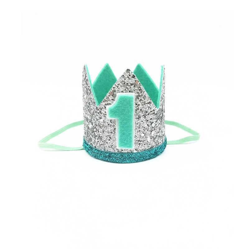 ... Muchachos de primer cumpleaños de plata corona azul niños azul dorado  1st cumpleaños niño traje pastel ... 797e781fee8
