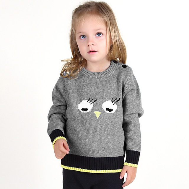 2016 Newest Knitting Lovely Pure Cotton Spring Winter Leisure Comfortable Girls Children Girl Cardigan Knitted Knit1526263128