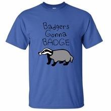 Badgers Gonna Badge Mens & Womens Printing O-neck Shirt Cool T Shirt