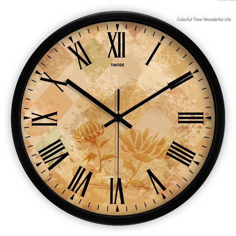 Large Decorative Wall Clocks Home Decor Vintage Modern Klokken ...