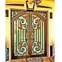 Expanded Metal Security Doors Metal Double Doors Exterior Hollow Metal Insulated Doors