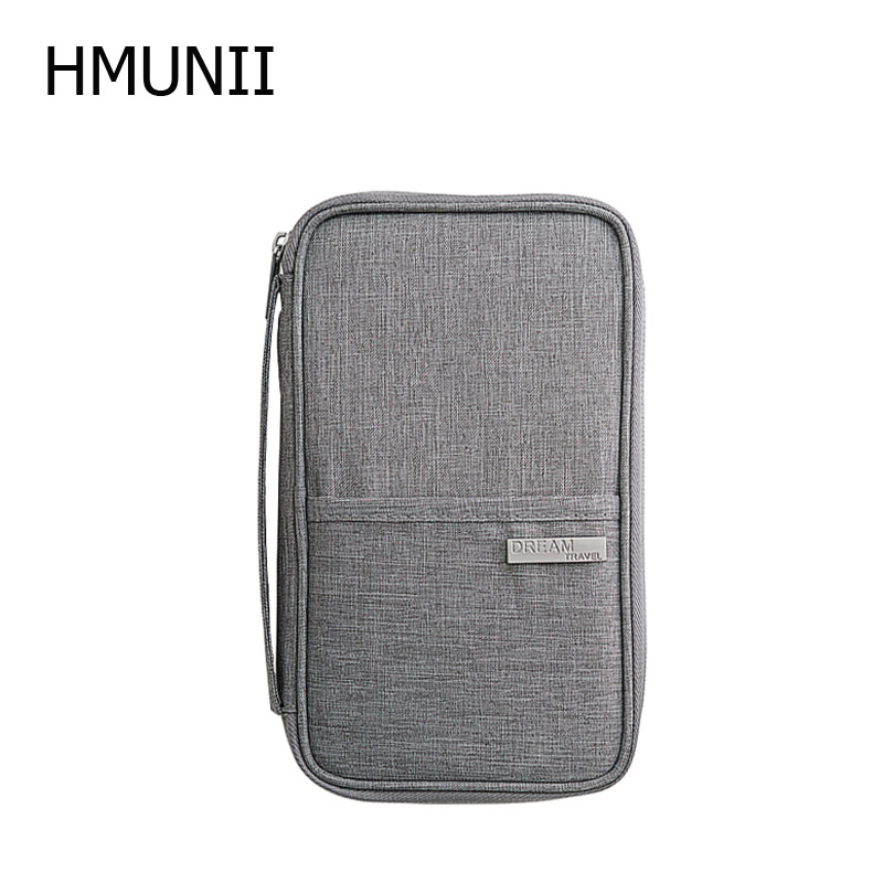 HMUNII New Cationic Fabric Travel Organizer Passport Holder Card Package Credit Card Holder ,Multi-functional Travel Accessories women travel organizer passport holder card package credit card holder wallet document package fashion multi pockets card pack