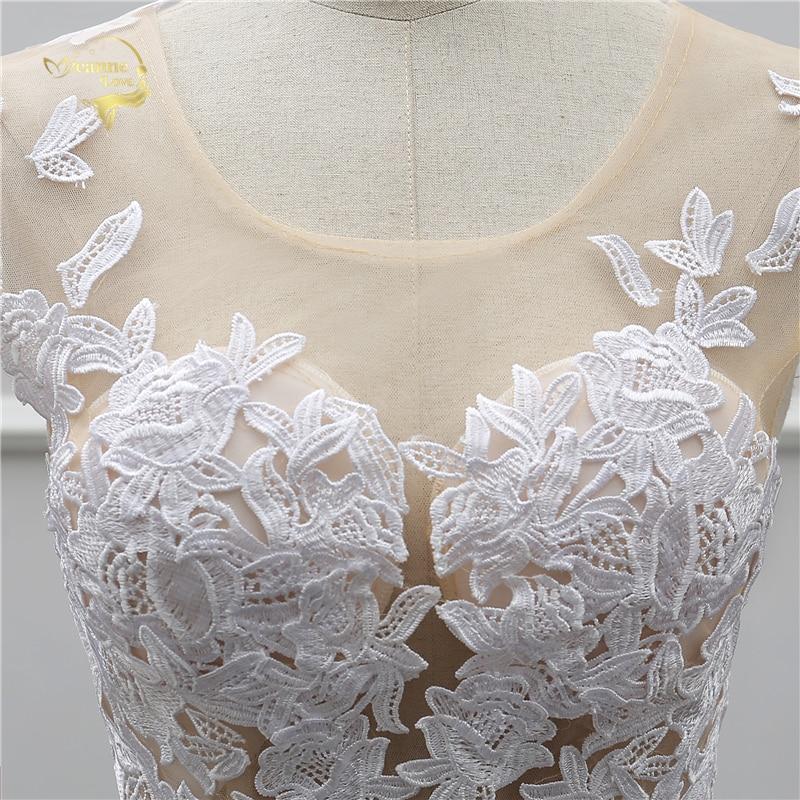 Jeanne Love Sexy Lace White Beach Wedding Dresses 2018 Newest Perspective Robe De Mariage JLOV75982 Vestido De Noiva Trouwjurk 7