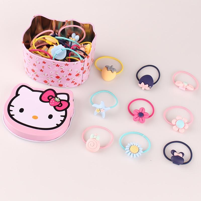 WHTLY Nowe słodkie dziecięce gumowe akcesoria do włosów Baby Sun - Odzież dla niemowląt - Zdjęcie 2