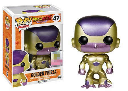 Funko pop Brinquedo Dragon ball Z Frieza de Ouro Vinyl action Figure Collectible Modelo Toy kids presente