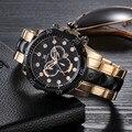 Mens relógios top marca de luxo relogio masculino kanishi homem esportes etiqueta de negócios relógio de quartzo relógios masculino atacado feida