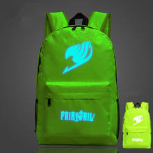 Fairy Tail Naruto One Piece Luminous Backpack