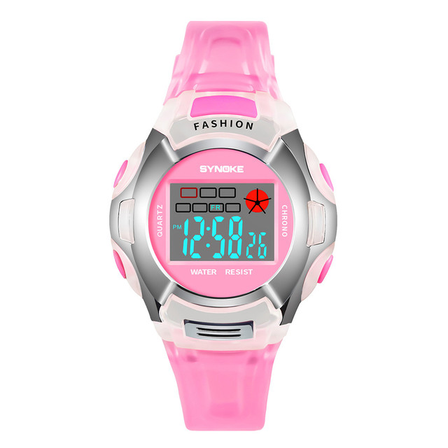 Children Boys Student Waterproof Sports Watch LED Digital Date Wristwatch Reloj