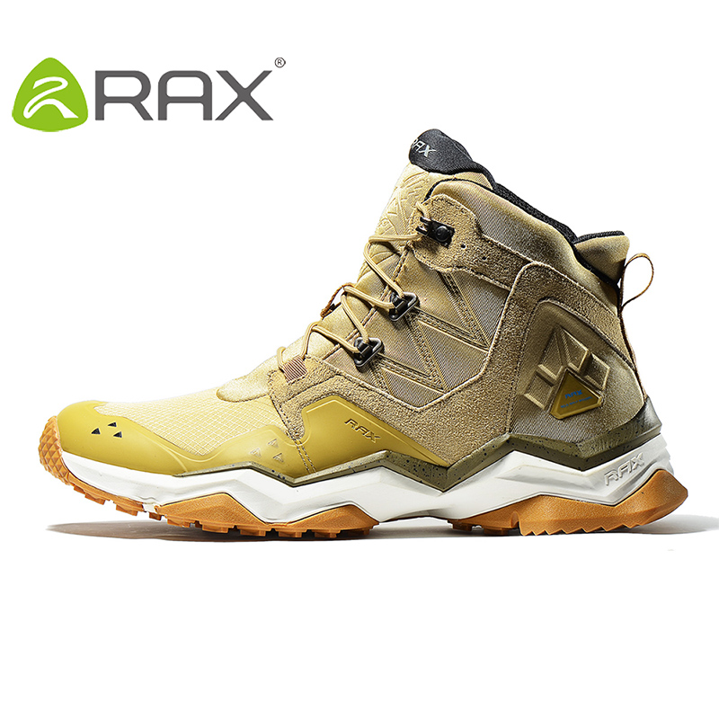 Rax 2018 New Winter Surface Waterproof Hiking Shoes For Men and Women Outdoor Breathable Hiking Boots Warm Outdoor Hiking Boots ...