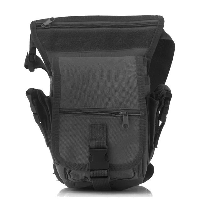 Saco Militar Saco Cinto Gota Painel Perna Utility Cintura Cinto saco de Venda Quente do exército verde preto pacotes de lona famoso especial projeto