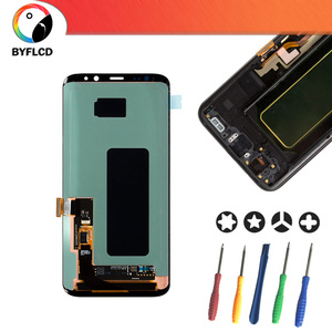 Image 5 - Original LCD For Samsung Galaxy S8 G950 G950F Screen For Samsung S8 Plus lcd G955 G955F Burning shadow Display Touch Screen