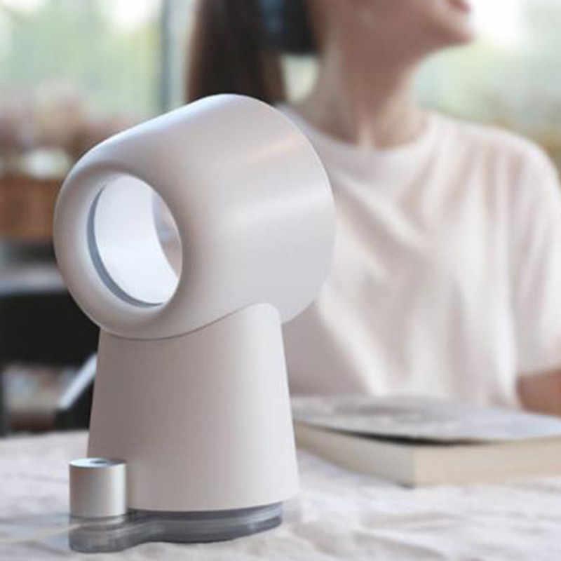 111 Youpin Happy Life 3 в 1 мини-вентилятор охлаждения, настольный вентилятор, увлажнитель воздуха, светодиодный светильник, 3 скорости, регулируемый для улицы