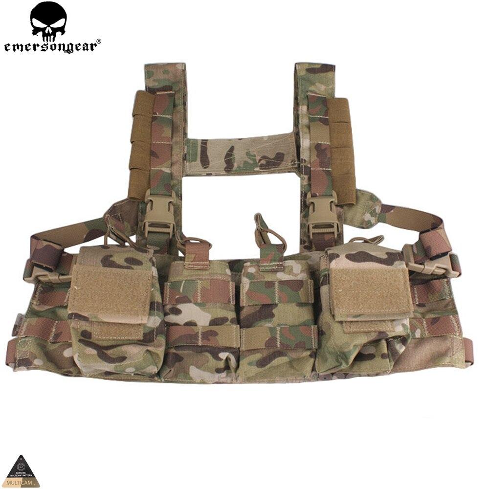 Jurnalı çantası olan Airsoft Hunting Paintball Vest Multicam - İdman geyimləri və aksesuarları - Fotoqrafiya 6