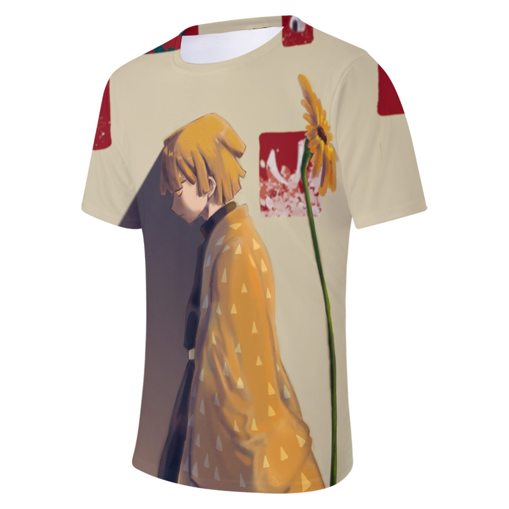 Demon Slayer 3D T-Shirts Zenitsu